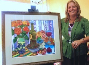 Artwork embraces Evening of Wine and Roses